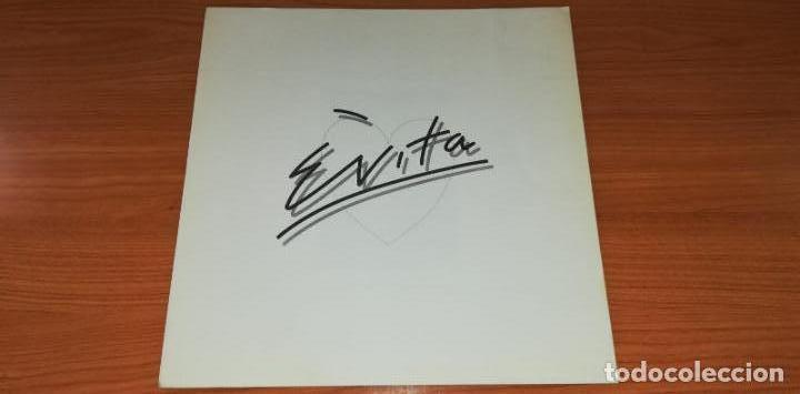 Discos de vinilo: LP - Andrew LLoyd Webber - Evita - Year 1977 - Edition Spanish - 2 LP - Foto 6 - 162036046