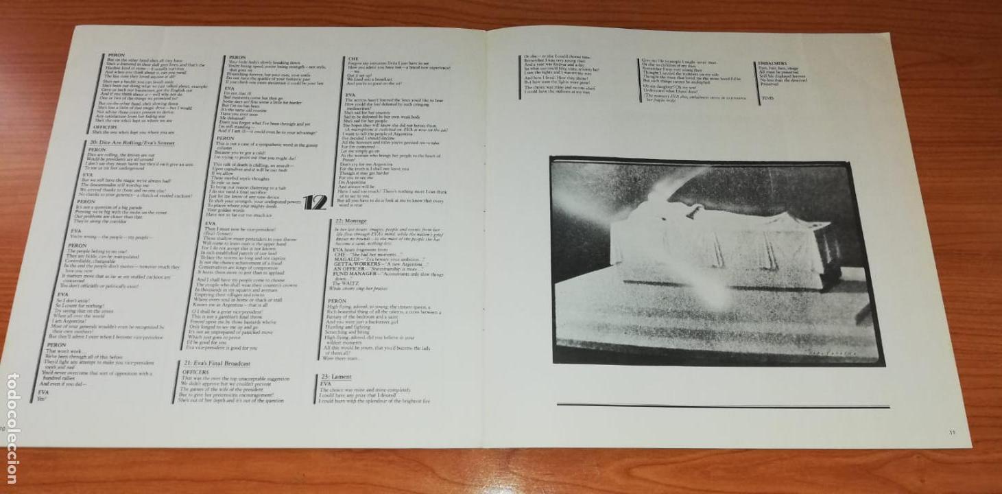 Discos de vinilo: LP - Andrew LLoyd Webber - Evita - Year 1977 - Edition Spanish - 2 LP - Foto 7 - 162036046