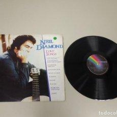 Disques de vinyle: 519- NEIL DIAMOND LOVE SONGS SPAIN 1981 LP VINILO PORT VG + DISCO VG +. Lote 162038302