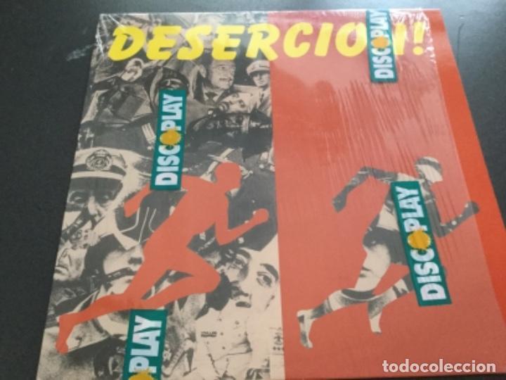 DESERCIÓN ! LP 1992=PUTAKSKA , PARABELLUM, REINCIDENTES (Música - Discos - LP Vinilo - Punk - Hard Core)