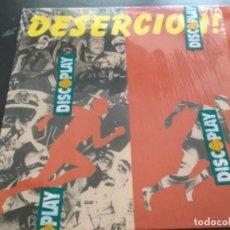 Discos de vinilo: DESERCIÓN ! LP 1992=PUTAKSKA , PARABELLUM, REINCIDENTES. Lote 162059422