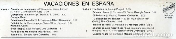 Discos de vinilo: SU PER SUPER + VACACIONES COSTA DEL SOL + VACACIONES EN ESPAÑA. - Foto 4 - 162069134