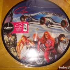 Discos de vinilo: GILLAN. FUTURE SHOCK. PICTURE DISC. LIMITED EDITION. DEMON, 2015. IMPECABLE (#). Lote 162077442
