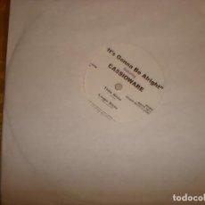 Discos de vinilo: CASSIOWARE. IT´S GONNA BE ALRIGHT. 10 PULGADAS. WAKE, 2000. MAXI-SINGLE. IMPECABLE (#). Lote 162091282