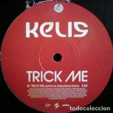 Discos de vinilo: KELIS – TRICK ME / VIRGIN - ARISTA / VINYL, 12 / 45 RPM PROMO / 2004. Lote 162096746