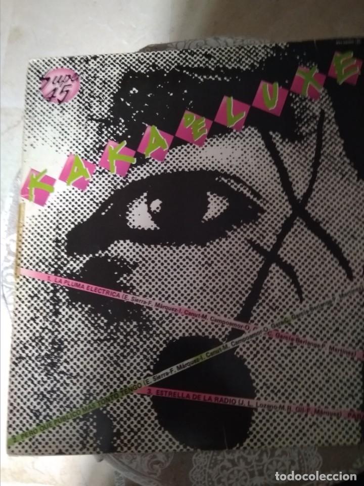 Discos de vinilo: MAXI SINGLE DE KAKA DELUXE Y paraiso - Foto 2 - 38840050