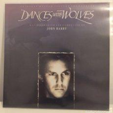 Discos de vinilo: JOHN BARRY-DANCES WITH WOLVES-ORIGINAL MOTION PICTURE SOUNDTRACK/LP 1991 EPIC,ESPAÑA. Lote 162110233