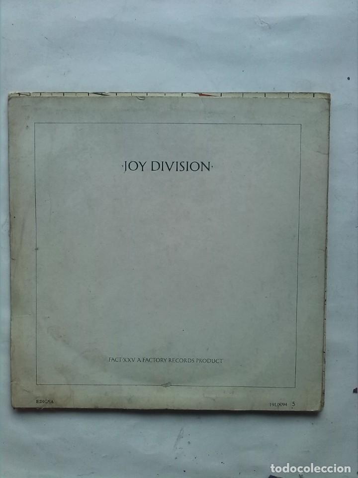 Discos de vinilo: JOY DIVISION CLOSER - Foto 4 - 162130238