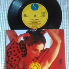 Discos de vinilo: MADONNA '' LA ISLA BONITA / INSTRUMENTAL '' SINGLE 7'' UK 1987 UNIQUE PICTURE. Lote 162132150