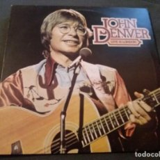 Discos de vinilo: JOHN DENVER --- LIVE IN LONDON. Lote 162132214