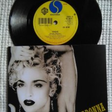Discos de vinilo: MADONNA - '' VOGUE / KEEP IT TOGETHER '' SINGLE 7'' UK 1990 UNIQUE PICTURE. Lote 162132262