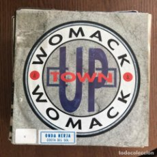 Discos de vinilo: WOMACK & WOMACK - UPTOWN - SINGLE ARITA 1991. Lote 162136582