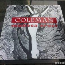 Vinyl-Schallplatten - MAXI SINGLE. COLEMAN. MUÑECA CRUEL. 1996 - 162137570