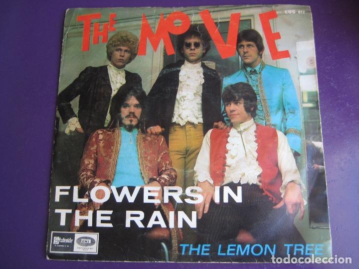 THE MOVE SG EMI 1967 FLOWERS IN THE RAIN/ THE LEMON TREE - MOD POP PSICODELIA (Música - Discos - Singles Vinilo - Pop - Rock Extranjero de los 50 y 60)