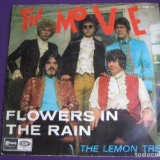 Discos de vinilo: THE MOVE SG EMI 1967 FLOWERS IN THE RAIN/ THE LEMON TREE - MOD POP PSICODELIA . Lote 162138222