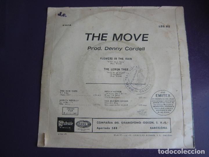 Discos de vinilo: THE MOVE Sg EMI 1967 flowers in the rain/ the lemon tree - MOD POP PSICODELIA - Foto 2 - 162138222