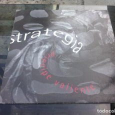 Vinyl-Schallplatten - MAXI SINGLE. STRATEGIA. PRÍNCIPE VALIENTE. 1996 - 162138566