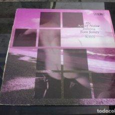 Vinyl-Schallplatten - MAXI SINGLE. THE ART OF NOISE FEATURING TOM JONES. KISS. 1988, ESPAÑA - 162143462