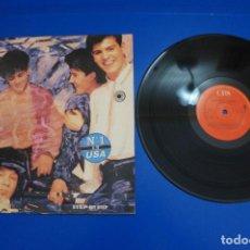 Discos de vinilo: LP DE VINILO NEW KIDS ON THE BLOCK STEP BY STEP AÑO 1990. Lote 162144554