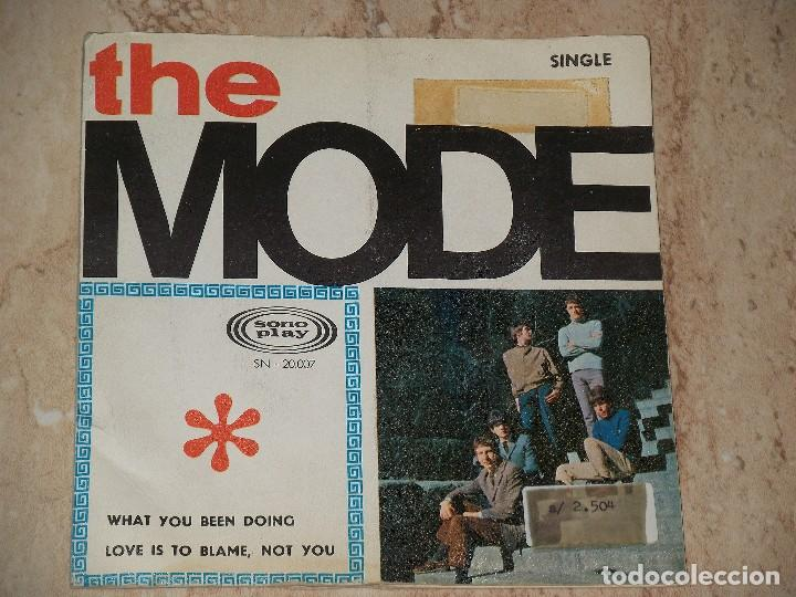 THE MODE - WHAT YOU BEEN DOING / LOVE IS TO BLAME, NOT YOU / 1966 MOD FREAKBEAT-PROMO-SONOPLAY- (Música - Discos - Singles Vinilo - Pop - Rock - Extranjero de los 70)