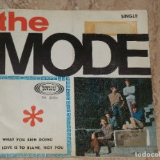 Discos de vinilo: THE MODE - WHAT YOU BEEN DOING / LOVE IS TO BLAME, NOT YOU / 1966 MOD FREAKBEAT-PROMO-SONOPLAY-. Lote 162145766