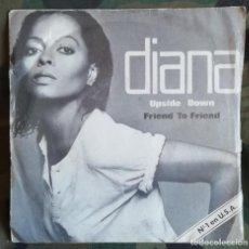 Discos de vinilo: DIANA ROSS – UPSIDE DOWN MOTOWN  SPAIN 1980 . Lote 162149526