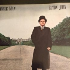 Discos de vinilo: ELTON JOHN LP A SINGLE MAN. Lote 162150270
