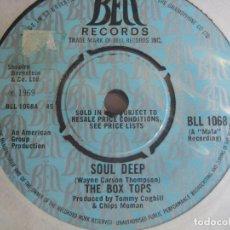 Vinyl-Schallplatten - The Box Tops Sg BELL 1969 Soul Deep +1 - SOUL ROCK - ALEX CHILTON - BIG STAR - 162150486