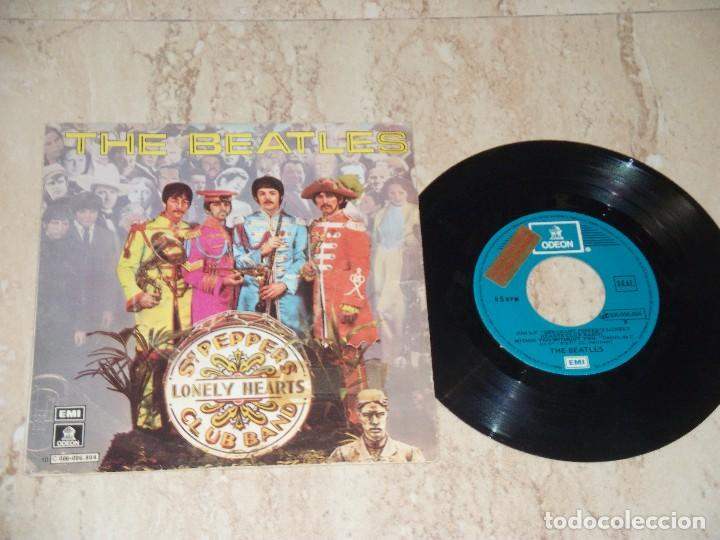 Discos de vinilo: The Beatles?–Sgt. Peppers Lonely Hearts Club Band-SINGLE-SPAIN-1978Odeon ?10C006-006804-PROMOCIONAL - Foto 1 - 162156234