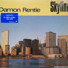 Discos de vinilo: DAMON RENTIE - SKYLINE - VINILO LP - ORIGINAL USA - PORTADA TORRES GEMELAS - NUEVO. Lote 162157962