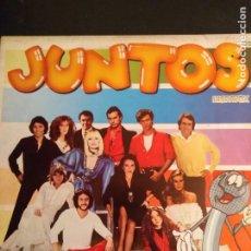 Discos de vinilo: JUNTOS LP MIX. Lote 162162778