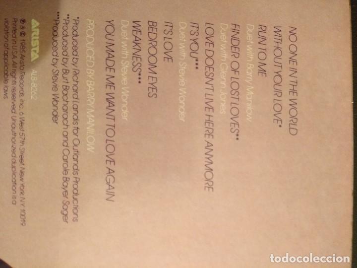Discos de vinilo: DIONNE LP Finder Of Lost Loves - Foto 2 - 162164566