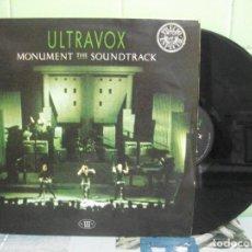 Discos de vinil: ULTRAVOX MONUMENT THE SOUNDTRACK LP SPAIN 1983 PDELUXE. Lote 162180130
