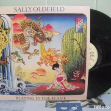 Discos de vinilo: SALLY OLDFIELD PLAYING IN THE FLAME LP SPAIN 1981 PDELUXE. Lote 162193274