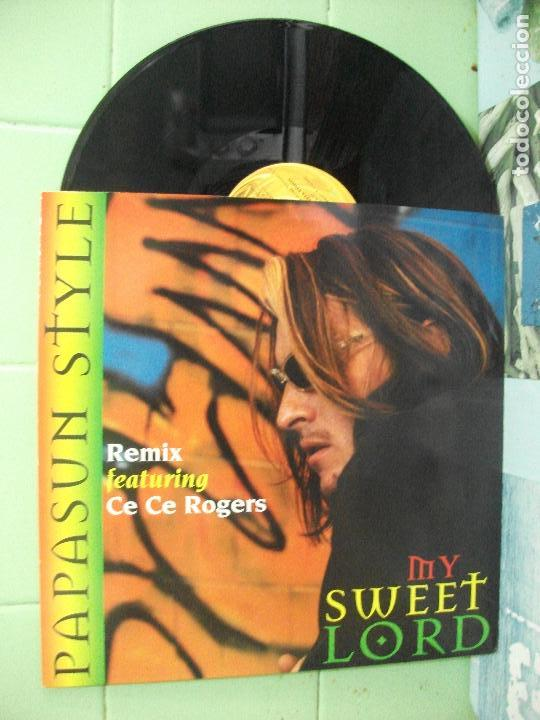 Discos de vinilo: PAPASUN STYLE MY SWEET LORD MAXI SPAIN 1997 PDELUXE - Foto 1 - 162199706