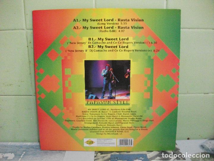Discos de vinilo: PAPASUN STYLE MY SWEET LORD MAXI SPAIN 1997 PDELUXE - Foto 2 - 162199706
