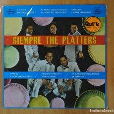 Discos de vinilo: THE PLATTERS - SIEMPRE THE PLATTERS - LP. Lote 162201617