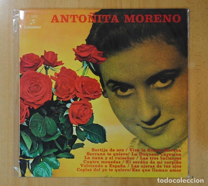 ANTOÑITA MORENO - ANTOÑITA MORENO - LP (Música - Discos - LP Vinilo - Flamenco, Canción española y Cuplé)