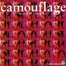 Discos de vinilo: CAMOUFLAGE - HANDSOME - THE REMIX , MAXI-SINGLE GERMANY 1991. Lote 162207674