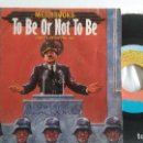 Discos de vinilo: MEL BROOKS- TO BE OR NOT TO BE (THE HITLER RAP PTS. 1&2) SINGLE 1984. Lote 162209590