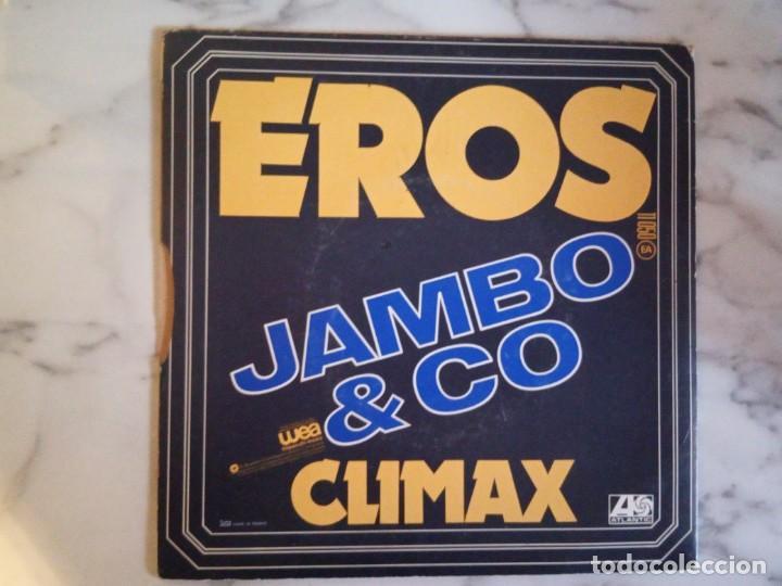 Discos de vinilo: JAMBO & CO EROS / CLIMAX DISCO AMBIENT ELECTRÓNICA ORIGINAL FRANCIA 1977 MUY RARO NM - Foto 2 - 162241094