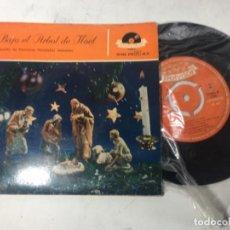 Discos de vinilo: ORIGINAL ANTIGUO EP NAVIDAD VILLANCICOS. Lote 162260718