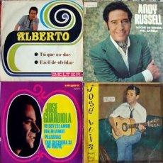 Discos de vinilo: LOTE 6 SINGLES Y 2 EPS.. Lote 162273570