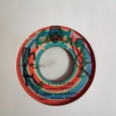 Discos de vinilo: COMBO PANASWING SACUDEME / Y NO ERAS NADIE LATIN SWEET SOUL SALSA ORIGINAL PANAMÁ 197? VG-. Lote 195785560