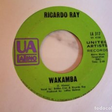 Discos de vinilo: RICARDO RAY WAKAMBA / BABA COROCO LATIN SOUL SALSA ORIGINAL USA 1969 VG++. Lote 214914776