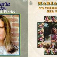 Discos de vinilo: MARÍA OSTIZ. LOTE 2 SINGLES.. Lote 162286442