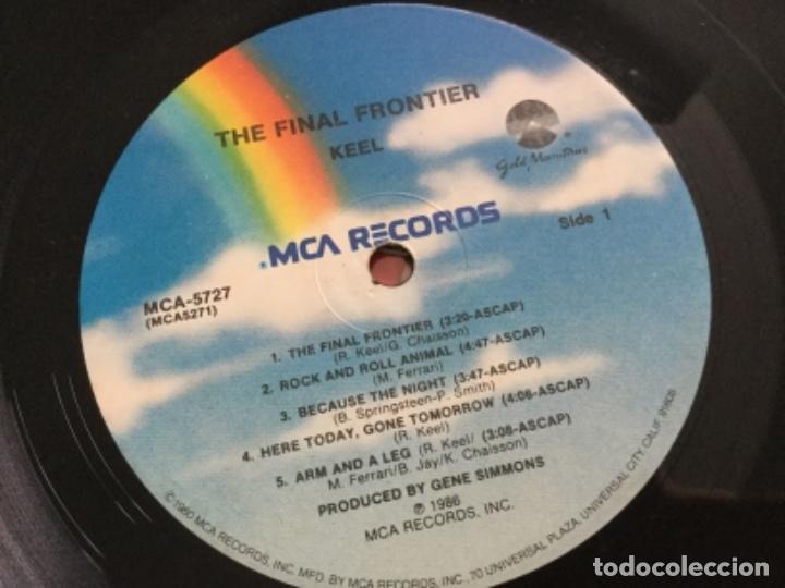 Discos de vinilo: Keel - The Final Frontier - Foto 4 - 162287066