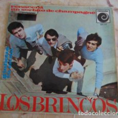 Discos de vinilo: LOS BRINCOS – RENACERÁ / UN SORBITO DE CHAMPAGNE / GIULIETTA / TU EN MI - EP. Lote 162288702