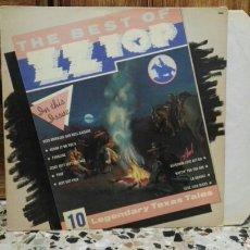 Discos de vinilo: LP THE BEST OF ZZ TOP. Lote 162295977
