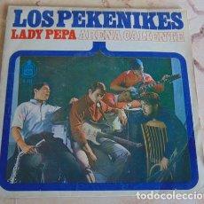 Discos de vinilo: LOS PEKENIKES – ARENA CALIENTE / LADY PEPA - SINGLE. Lote 162298202